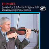 Play & Download Hummel: Works for Violin & Piano on Original Instruments by Richard Burnett | Napster