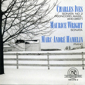 Charles Ives/Maurice Wright: Marc Andre Hamelin, piano by piano Marc-Andre Hamelin