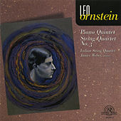 Leo Ornstein: Piano Quintet/String Quartet #3 by Various Artists