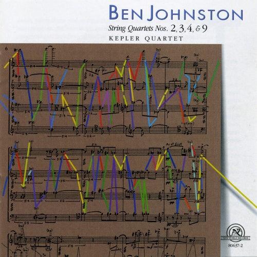 Ben Johnston: String Quartets Nos. 2, 3, 4, & 9 by Kepler Quartet