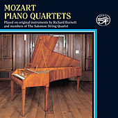 Mozart: Piano Quartets on Original Instruments by Richard Burnett