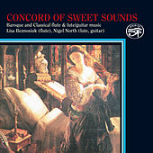 Concord of Sweet Sound for Lute, Flute & Guitar by Nigel North