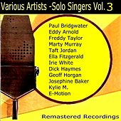 Play & Download Solo Singers Vol. 3 by Various Artists | Napster