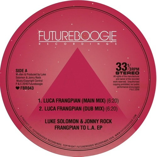 Frangipan To L.A. EP by Luke Solomon