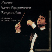 Play & Download Mozart: Symphonies Nos. 29, 33 & 34 by Wiener Philharmoniker | Napster