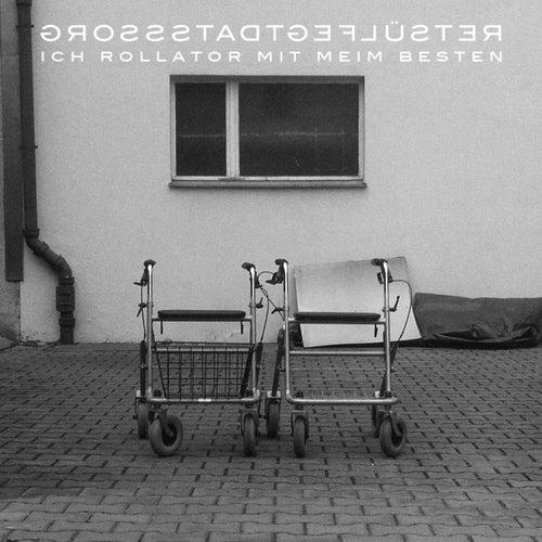 Ich rollator mit meim Besten by Grossstadtgeflüster