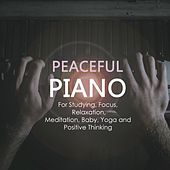 Peaceful Piano for Studying, Focus, Relaxation, Meditation, Baby, Yoga and Positive Thinking de Various Artists