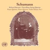 Schumann: 2 Piano Quintets in E-Flat Major and Violin Sonata No. 1 by Richard Burnett