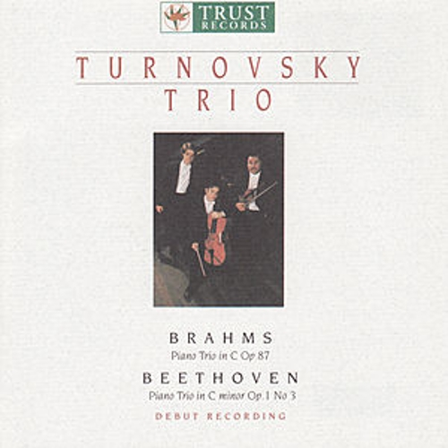 BRAHMS: Piano Trio in C major / BEETHOVEN: Piano Trio in C minor by Turnovsky Trio