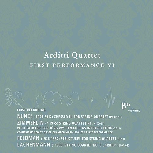 Play & Download Arditti Quartet Plays Works by Nunes, Zimmerlin, Feldman & Lachenmann by Arditti Quartet | Napster