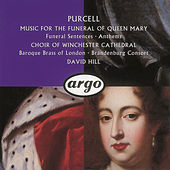 Purcell: Funeral Sentences by Various Artists