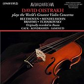 Play & Download Beethoven, Mendelssohn, Brahms & Tchaikovsky: Violin Concertos (Remastered) by David Oistrakh | Napster