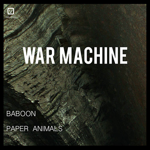 Baboon / Paper Animals by Warmachine