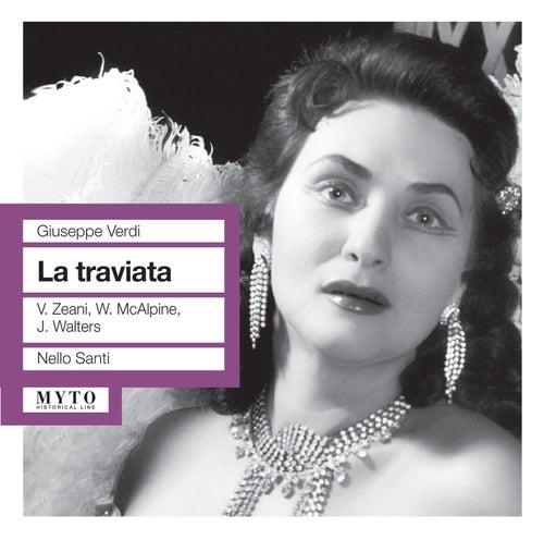 Verdi: La traviata by Virginia Zeani