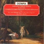 Beethoven: Piano Sonatas Nos. 1 - 3 by Tatiana Nikolayeva