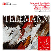 Play & Download Table Music Suite No. 2/4 - Trio for Flute, Oboe, Bassoon and Basso Continuo in E minor by Salzburg Chamber Quartet | Napster