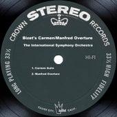 Bizet's Carmen/Manfred Overture by The International Symphony Orchestra