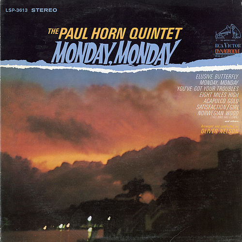 Monday, Monday by Paul Horn