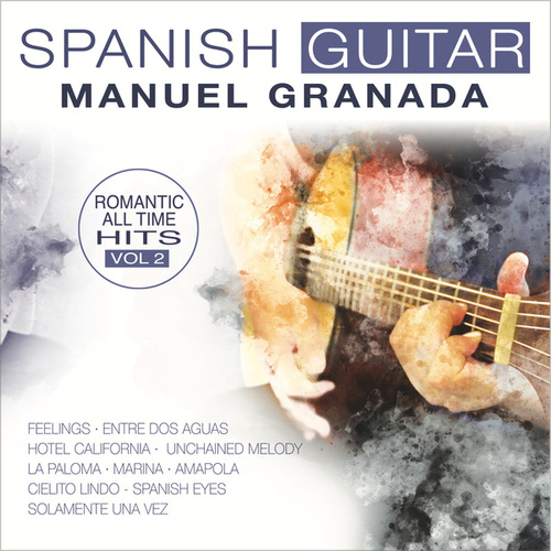 Spanish Guitar, Guitarra Española 2 by Manuel Granada