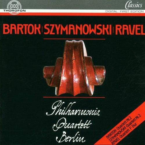 Bartok, Szymanowski, Ravel by Philharmonia Quartett Berlin