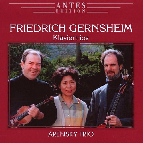 Play & Download Friedrich Gernsheim: Klaviertrios by Arensky Trio | Napster