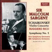 Tchaikovsky: Violin Concerto, Op. 35 & Symphony No. 5, Op. 64 by Various Artists