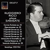 Sarasate: Orchestral & Chamber Works by Ruggiero Ricci