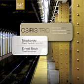 Play & Download Pyotr Ilyich Tchaikowsky: Piano Trio in a Minor, Op. 50 - Ernest Bloch: Three Nocturnes for Violin, Cello and Piano by Vesko Eschkenazy | Napster