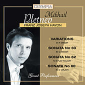 Play & Download Haydn: Variations & Sonatas by Mikhail Pletnev | Napster