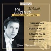 Haydn: Variations & Sonatas by Mikhail Pletnev