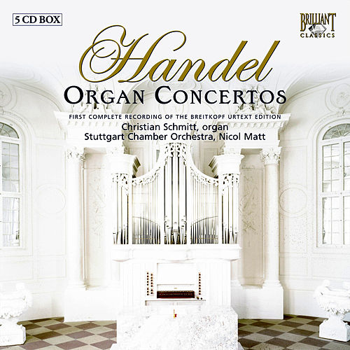Complete Organ Concertos Part: 4 by Various Artists