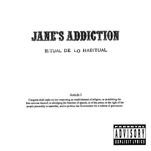 Play & Download Ritual De Lo Habitual by Jane's Addiction | Napster