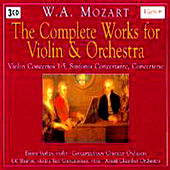 Complete Works For Violin and Orchestra Part: 2 by Emmy Verhey