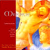 Play & Download Miserere, Lamentations by Various Artists | Napster