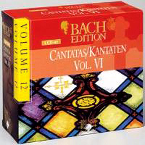 Bach Edition Vol. 12, Cantatas Vol. IV Part: 1 by Various Artists