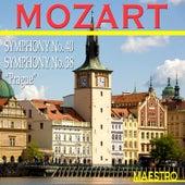 Play & Download Mozart: Symphony No. 40, Symphony No. 38