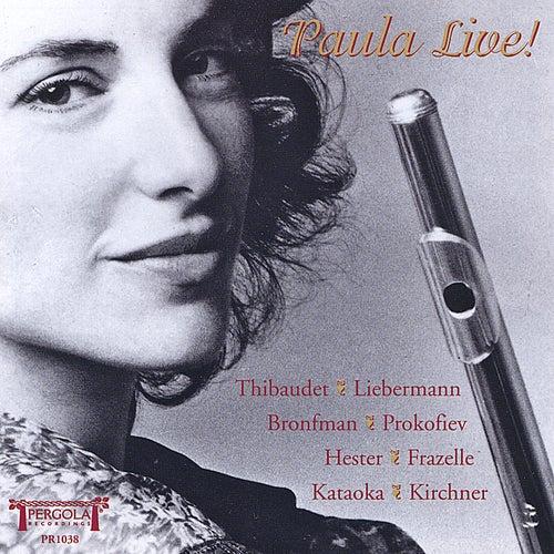 Play & Download Paula Live by Paula Robison | Napster