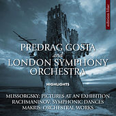Play & Download Mussorgsky, Rachmaninoff & Makris: Orchestral Works by London Symphony Orchestra | Napster