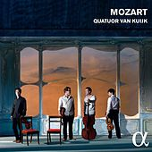 Mozart: String Quartets Nos. 16 and 19 & Divertimento, K. 136 by Quatuor Van Kuijk