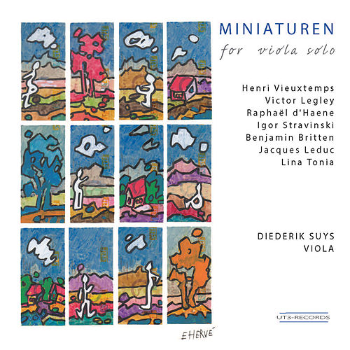 Play & Download Miniaturen for Viola Solo by Diederik Suys | Napster