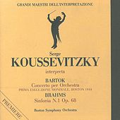Grandi maestri dell'interpretazione: Koussevitzky interpreta Bartók & Brahms by Boston Symphony Orchestra