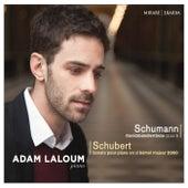 Play & Download Schumann: Davidsbündlertänze, Op. 6 - Schubert: Sonate pour piano en Si-Bémol Majeur, D. 960 by Adam Laloum | Napster