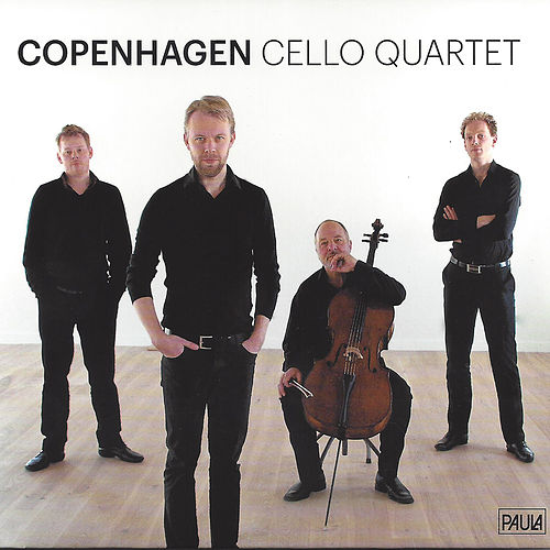 Copenhagen Cello Quartet by Morten Zeuthen