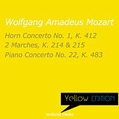 Yellow Edition - Mozart: Horn Concerto No. 1, K. 412 & Piano Concerto No. 22, K. 483 by Various Artists