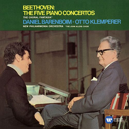Beethoven: Piano Concertos Nos 1-5 & Choral Fantasy von Otto Klemperer