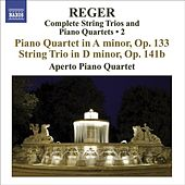 Play & Download REGER, M: String Trios and Piano Quartets (Complete), Vol. 2 (Aperto Piano Quartet) - Piano Quartet, Op. 133 / String Trio, Op. 141b by Various Artists | Napster