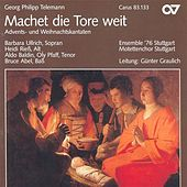 TELEMANN, G.P.: Machet die Tore weit / Nun komm der Heiden Heiland / In dulci jubilo (Stuttgart Motet Choir) by Various Artists