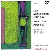 MENDELSSOHN, Felix: Church Music, Vol. 7 - 2 Sacred choruses / 3 Motets / Herr, sei gnadig / Trauer-Gesang / Te Deum (Stuttgart Chamber Choir) by Various Artists