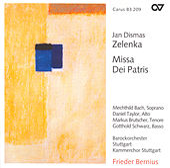 ZELENKA: Missa Dei Patris by Daniel Taylor