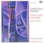 Play & Download HOMILIUS, G.: Choral Music (Stuttgart Chamber Choir, Bernius) by Frieder Bernius | Napster